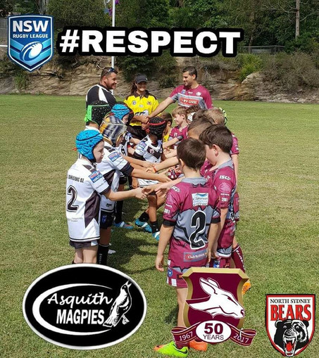 Magpies swoop on NSWRL #RESPECT