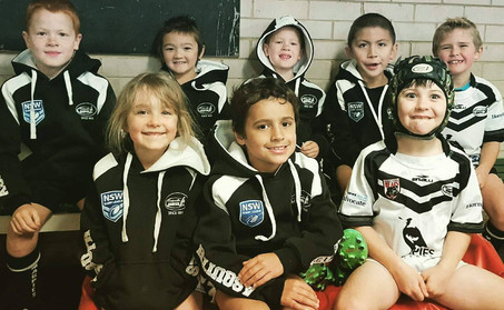 Under 7's Undefeated in 2017