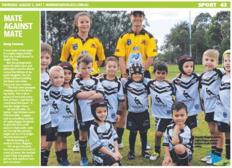 Asquith Under 6's Make The News