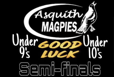 Junior Magpies in Semi-Finals