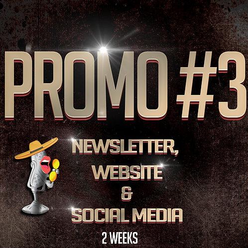 Promo #3 (2 Weeks)