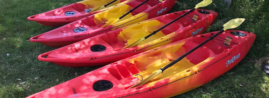 Sit-on Kayak Hire Voucher £25