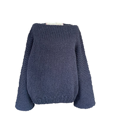 VMknit pull alpaga-laine sur commande