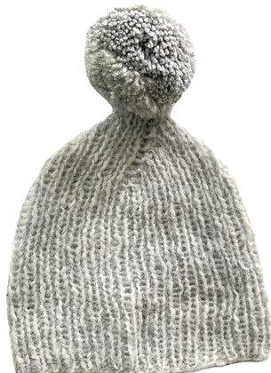 VMknit bonnet pompon