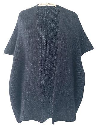 VMknit poncho alpaga-laine sur commande