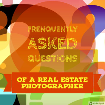 FAQ of a real estate photographer