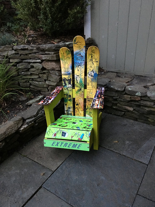 Kids Adirondack Ski Chair