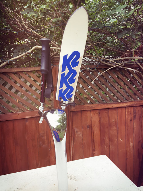 Vintage Ski or Ski Pole Beer Tap