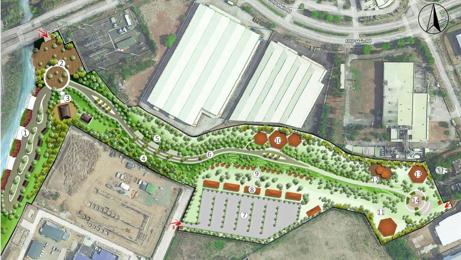 Linear Park Masterplan