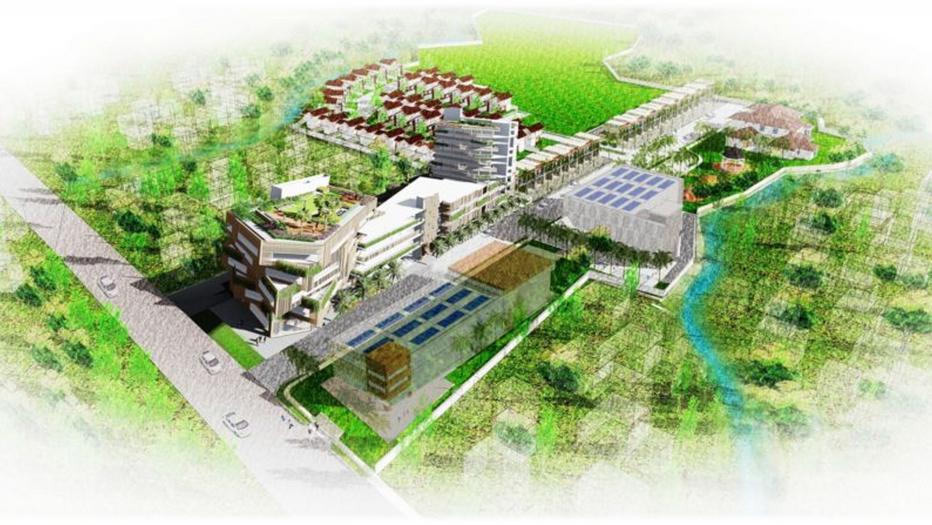 Mixed Use Commercial Residential Masterplan Development