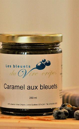 Caramel aux bleuets