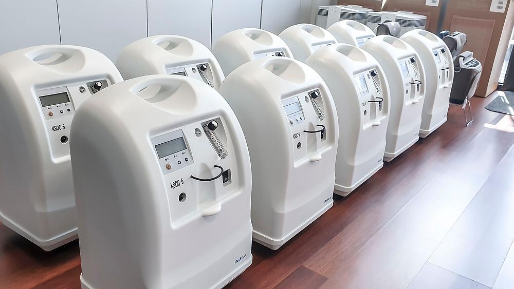 Sauerstoffkonzentratoren der MediCur AG