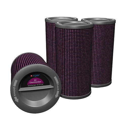 Filterpatronen für den Luftreiniger IQAir GC ChemiSorber