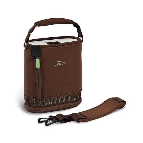 Tragtasche braun für mobilen Sauerstoffkonzentrator SimplyGo Mini