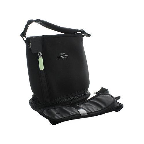 Tragtasche schwarz für mobilen Sauerstoffkonzentrator SimplyGo Mini