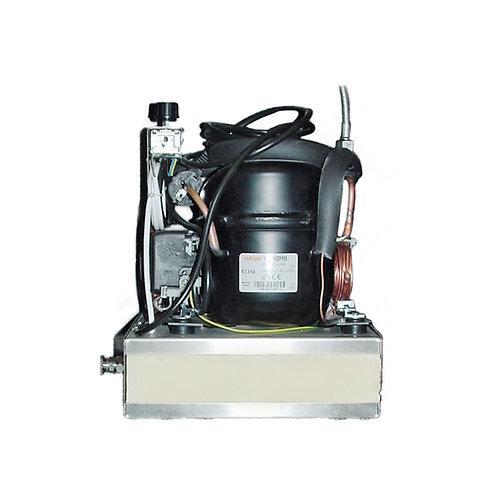 Durchlauf-Wasserkühler ohne Gehäuse