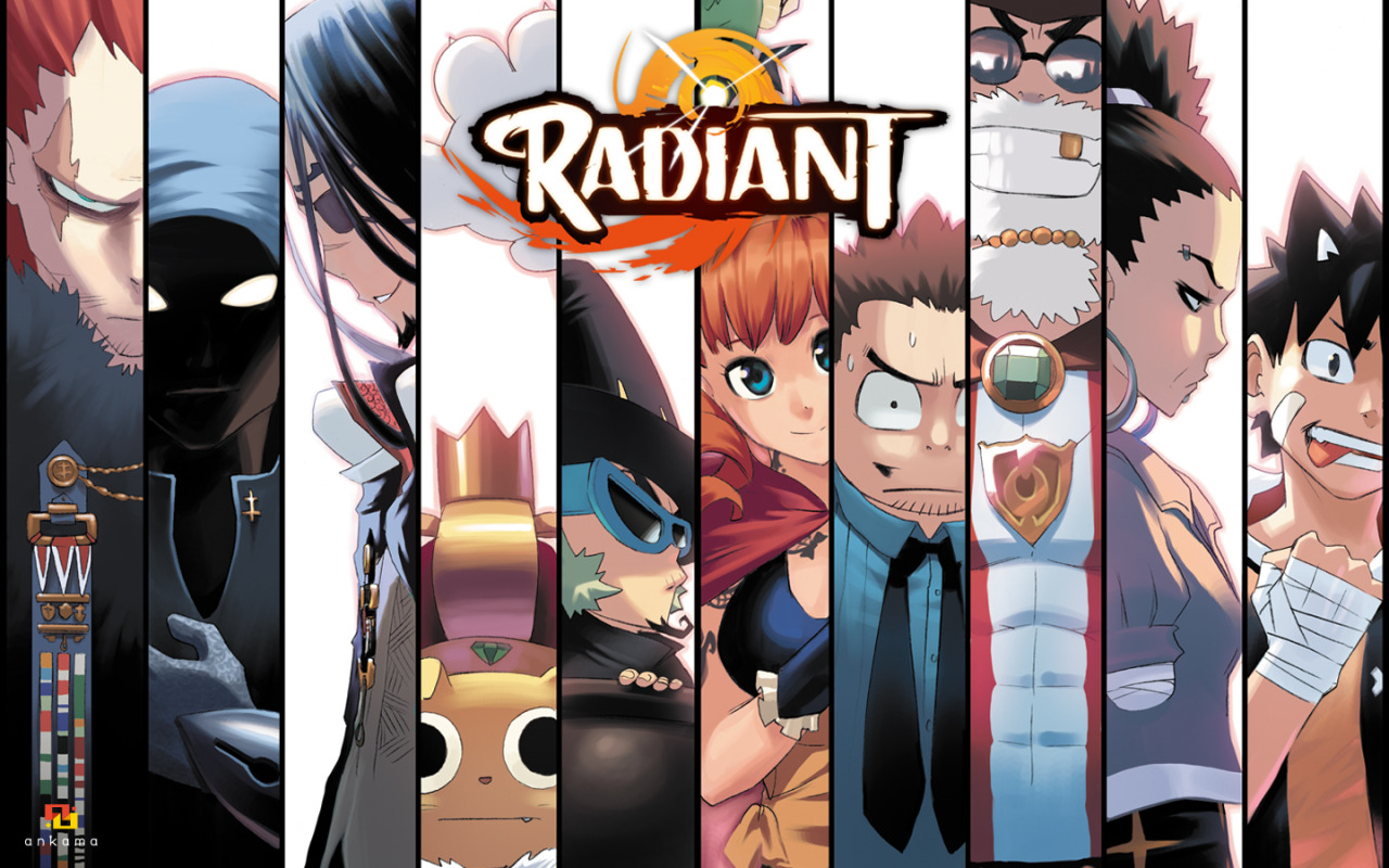 Viz Media Releases The Highly Anticipated Manga Series Radiant People Of Con California Comic Book Convention Community