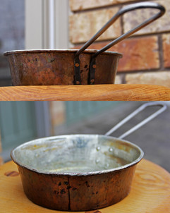 Handcrafted Copper Pan