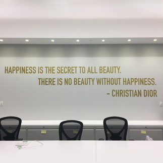 Dior Happiness Quote