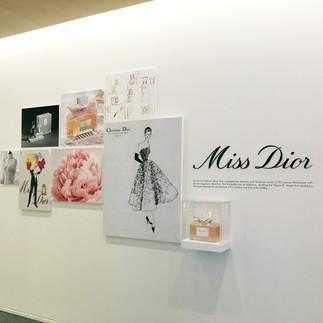 Miss Dior Hallway Decor