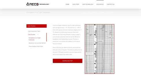 ARECO Resources Case Studies