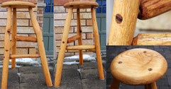 Handcrafted Wooden Stool