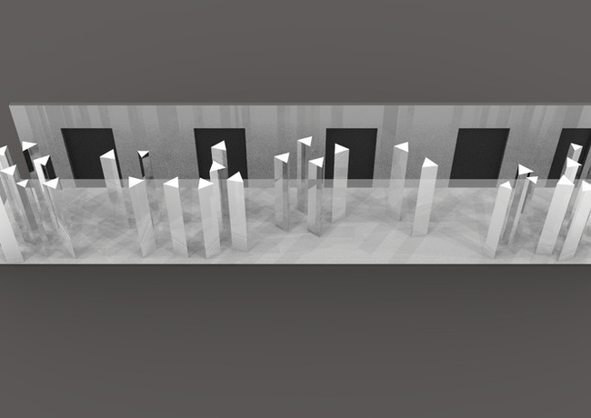 Mirrored Forest Angled Render