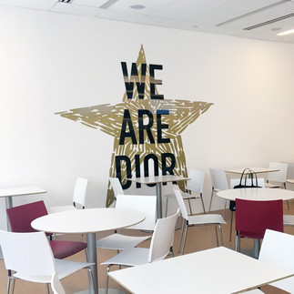 Dior Lunch Room Quote