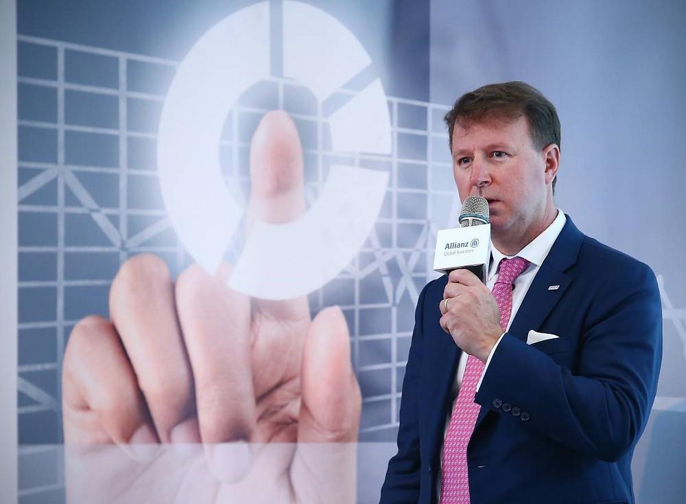 安聯環球投資固定收益團隊執行副總裁湯列宸(Brian Tomlinson)/Allianz GI