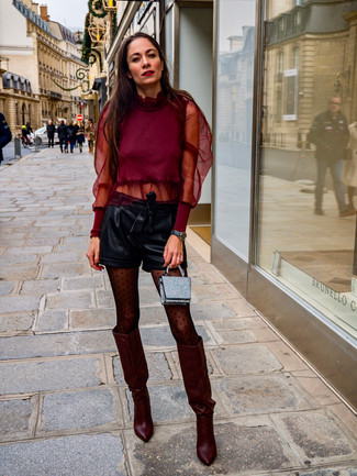 BURGUNDY & BLACK - ALEX EN VOGUE