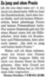 Leserbrief - Thomas STRADNER
