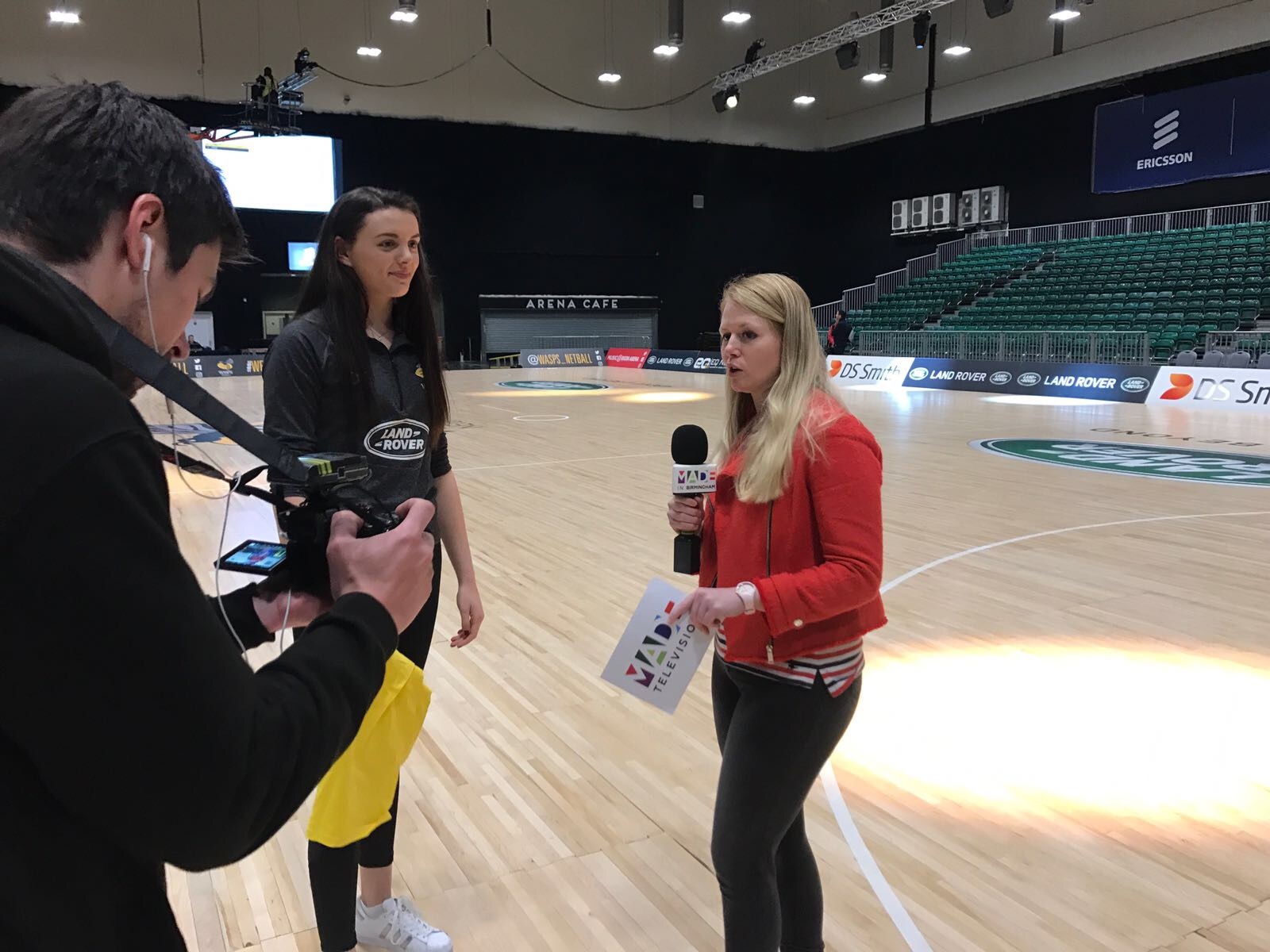 Wasps Netball, Made in Birmingham TV