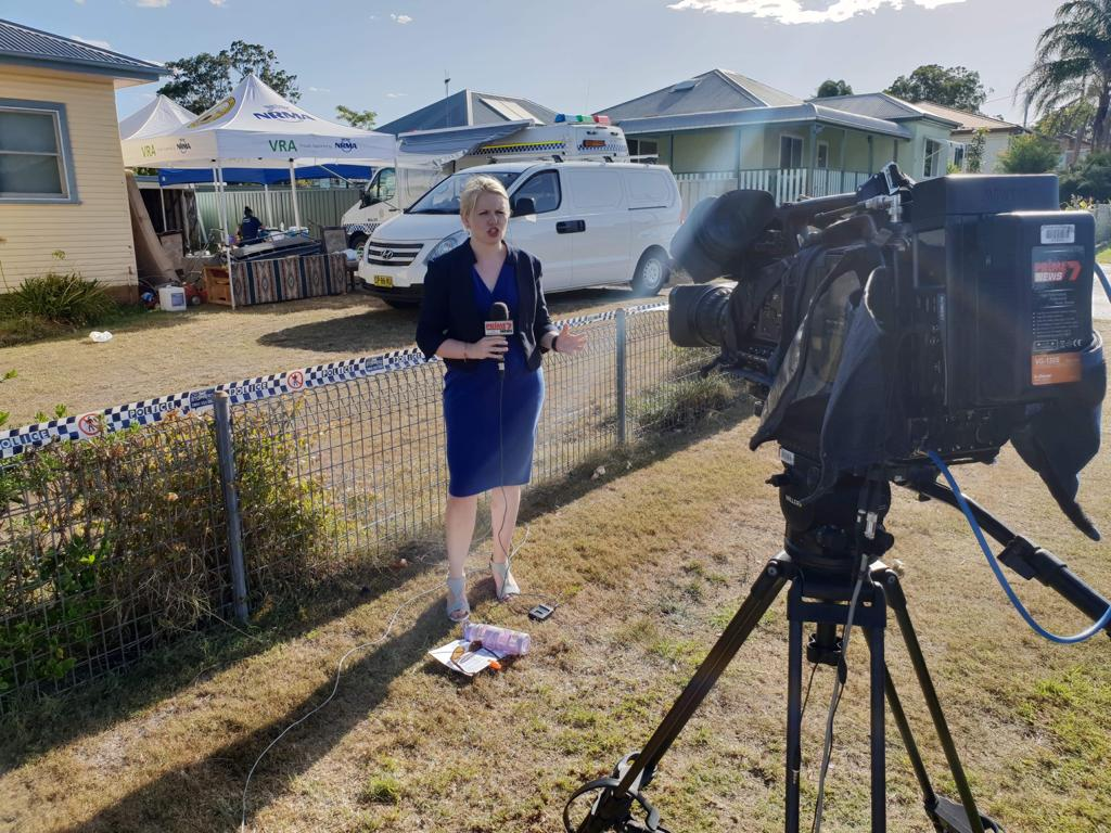 Murder investigation live cross