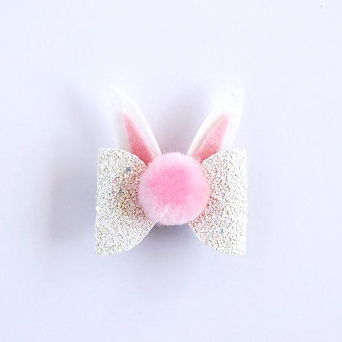 Bunny Bow - White