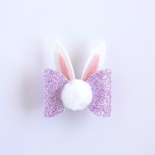 Bunny Bow - Lilac