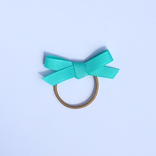 Grosgrain Tied Bow Hair Bobble