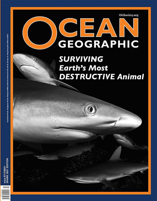 Cover of Ocean Geographic!