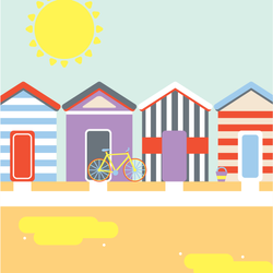 Beach Huts Gifted Entry