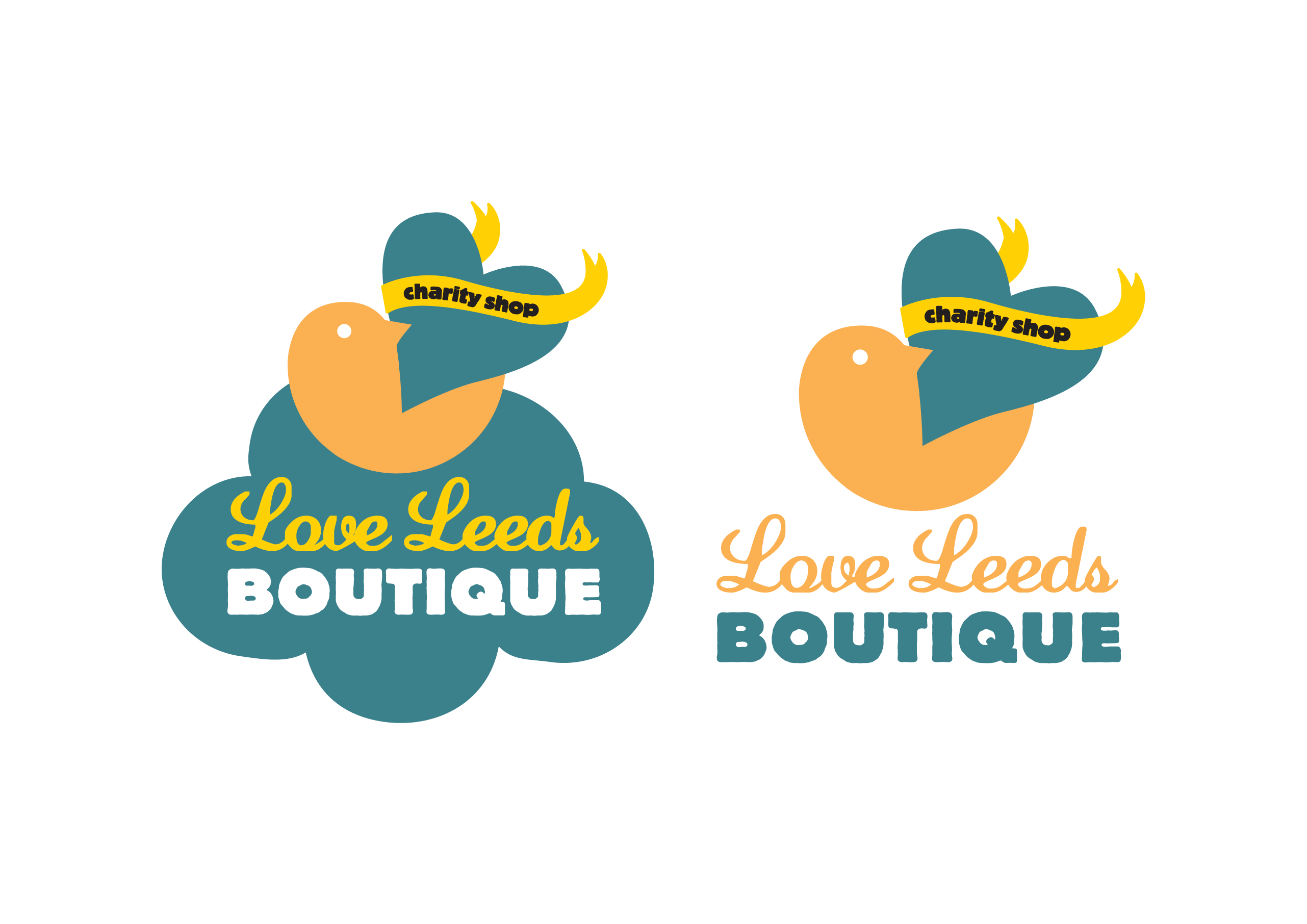 Love Leeds Boutique branding