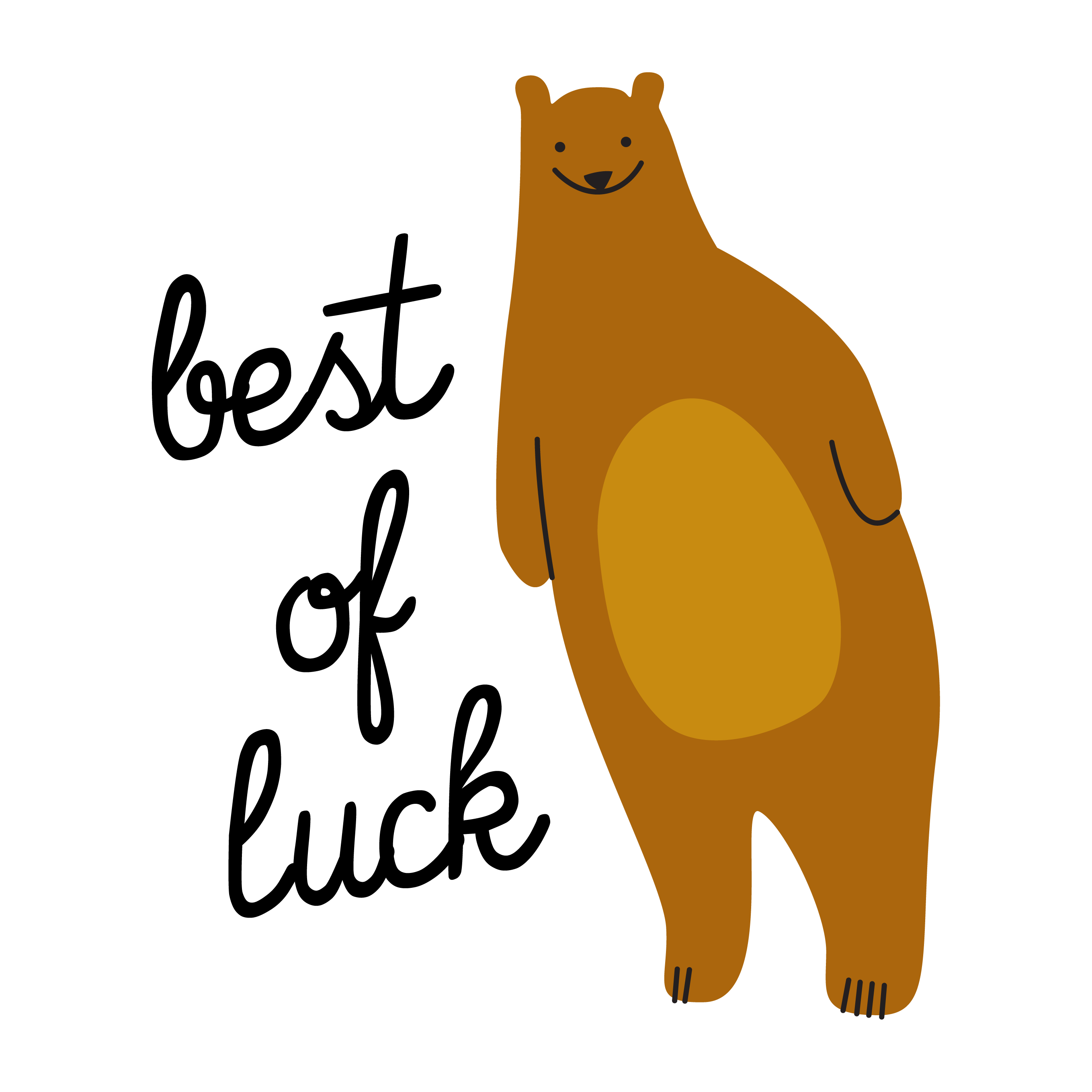 Best of Luck Gifted Entry