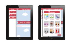 Tablet menu design