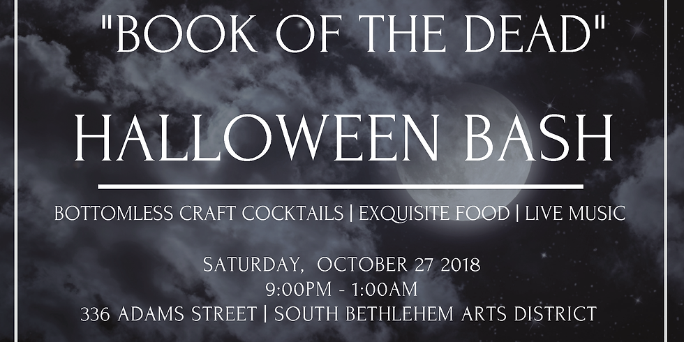 """2nd Annual """"Book of the Dead"""" Party"""