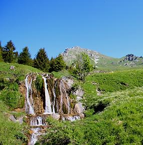 La Cascade des Munes (1384 m)