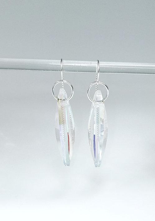 Swarovski Crystal Aurora Borealis Earrings