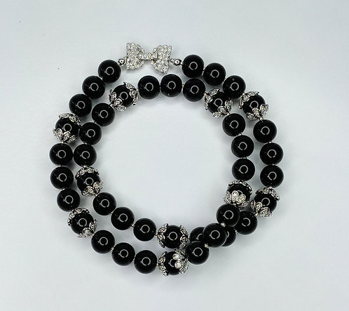Black Label Onyx Necklace