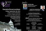 WLVV Sept 28 Exec Forum invitation rsvp