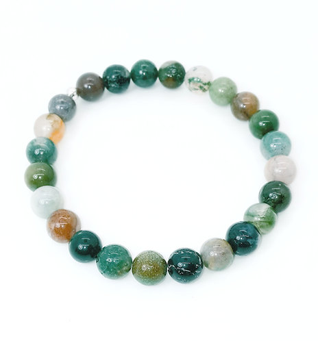 Indian Agate Bracelet