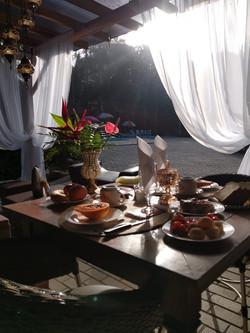 Café da Manhã para comemorações