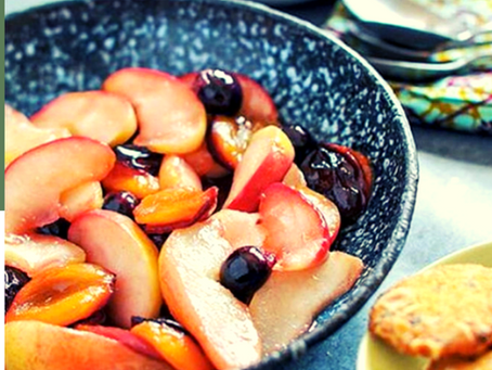 Frutti autunnali in padella