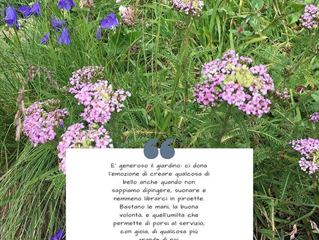 """""""La generosità del Giardino"""""""